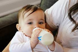 6 tips to get baby to drink from a bottle popsugar moms