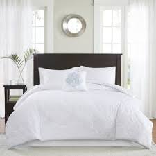 Newsprint Comforter Size Queen White Comforter Sets For Less Overstock Com