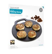 kitchencraft round cast iron baking stone cooking girdle 27 cm