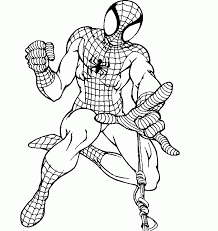 spiderman coloring pictures kids kids coloring