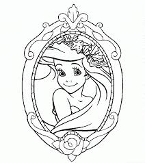 princess ariel coloring pages coloringsuite com