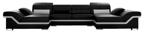 Double Chaise Sectional Matrix Double Chaise Sectional Contemporary Sectional Sofas