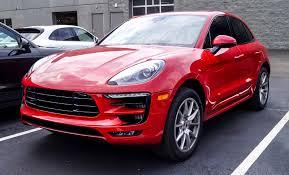 Porsche Macan Red - dealer inventory macan gts carmine red loaded rennlist