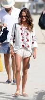 Beach Style by Alicia Vikander Flaunts Her Flirty Beach Style In Ibiza Daily