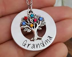 grandmother necklaces grandmother necklace etsy