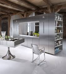 stainless top kitchen island stainless steel commercial kitchen cabinets orange wood material