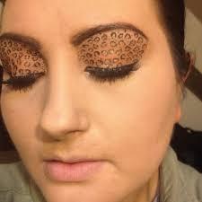 halloween leopard makeup tutorial blogger of a makeup addict leopard eye makeup