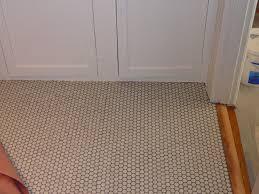 bathroom tile simple penny tile bathroom floor wonderful
