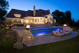 outdoor lighting for minneapolis mn yards and landscapes