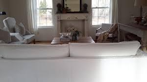 Slipcovered Sofa by Linen Slipcovered Sofa U2013 French Grey