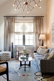 Family Room Curtains Family Room Window Treatments Living Room Transitional With Brown