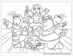 family coloring sheets newcoloring123