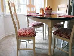 reupholster a dining room chair reupholster dining room chairs in red home decor and design