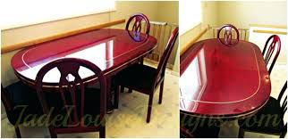 how to protect wood table top protecting wood dining table top beautiful wood table with epoxy