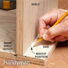 Cabinet Joint How To Make A Biscuit Joint Family Handyman