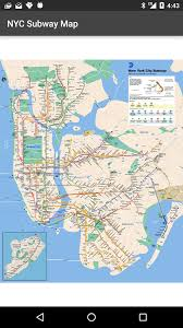 mta map subway map of nyc subway offline mta android apps on play