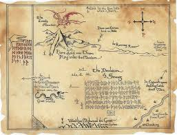 map hobbit the bones in the soup the anglo saxon flavour of tolkien s the