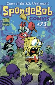 spongebob comics volume comic vine