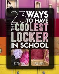 Ideas For Locker Decorations 520 Best Locker Ideas Images On Pinterest Locker
