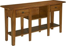 shaker sofa table broyhill attic heirlooms sofa table 3397 09s
