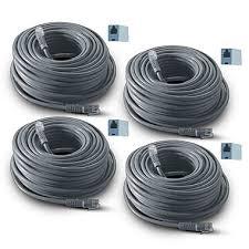 revo r60rj12c 4 60 u0027 rj12 cable black staples