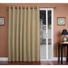 Double Panel Curtains Dark Brown Wood Curtains U0026 Drapes Window Treatments The Home