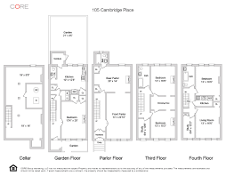 core group top floor rental layout 105 cambridge place house