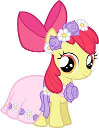 mlp wedding castle image castle creator apple bloom in a dress png my pony
