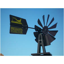 pheasants forever small bronze backyard windmill bronze 282061