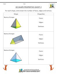 continue identifying the properties of solid shapes as a bonus