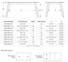 alton dining table u2013 saloom furniture company