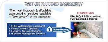 basement waterproofing approaches