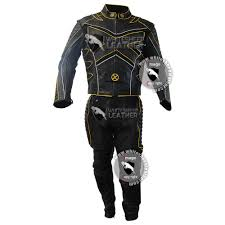 motorcycle suit mens x men hugh jackman u0027s wolverine motorbike leather suit