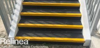 grp anti slip stair treads non slip grp stair tread covers uk