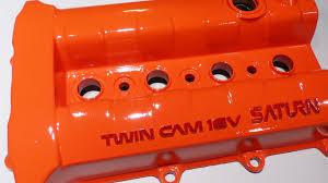 spray painting a valve cover with good results that last youtube