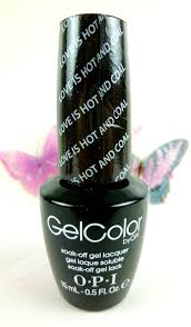gel color by opi love is and coal i gel nails com