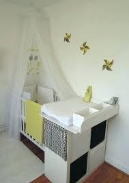 chambre parent bébé amenager la chambre de bebe lit bebe dans chambre parents amenager