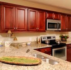 Cherry Kitchen Cabinets Beautiful Cherry Kitchen Cabinets And Floors Oceanside Llc Palm