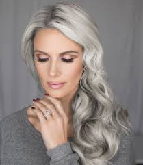 30 superb short hairstyles for women over 40 silver hair gray