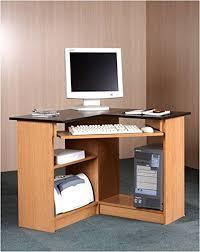 Corner Desk Computer Workstation Mylex Corner Computer Workstation 35 5 W X 35 5 D X