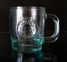 fancy mugs starbucks glass mug 100 recycled glass made in spain bin 19 50