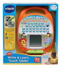 vtech write and learn desk amazon com vtech write and learn touch tablet toys games