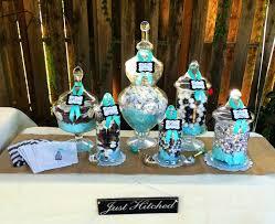 Tiffany Color Party Decorations Kara U0027s Party Ideas Rustic Black White U0026 Tiffany Blue Wedding Via