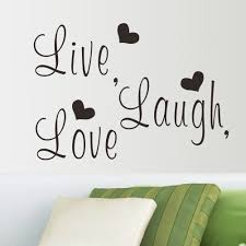 online get cheap phrases love aliexpress com alibaba group live laugh love quote wall stickers home decor art decal sticker decals quote saying words phrases