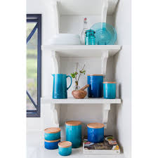 kitchen canisters blue interesting canister l set light blue interesting le creuset qt kitchen canister reviews wayfair with kitchen canisters blue