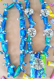 Money Leis Candy Lei With Candy Box Pendant Diy Graduation Lei
