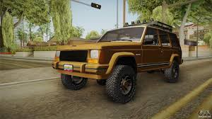 jeep banshee jeep cherokee 1984 for gta san andreas