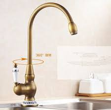 antique kitchen faucets aliexpress buy ceramic kitchen faucet antique brass bathroom