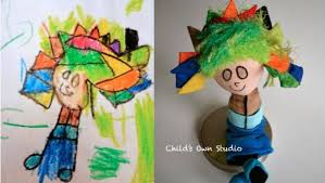 turn your child u0027s artwork into a plush toy mnn mother nature
