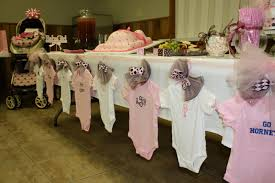 girl themed baby shower baby girl shower decorations ideas adept image on february table